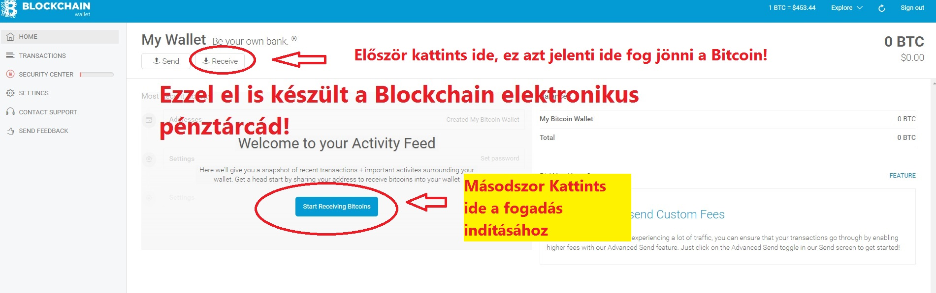ingyenes bitcoin hogyan kell használni